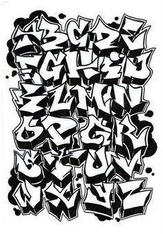 """Graffiti Hall: Alfabeto """"Graffiti"""""""