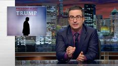 Season Three finale of Last Week Tonight with John Oliver. He devoted the entire episode to discussing the insane reality we are living in with Donald Trump as the next President.