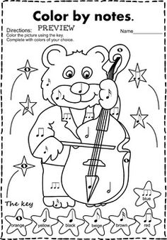 Musical animals Color by Music Bundle Music Games, Music Activities, Music Education Lessons, Music Lessons, Music Classroom, Music Teachers, Elementary Music, Elementary Schools, Music Lesson Plans