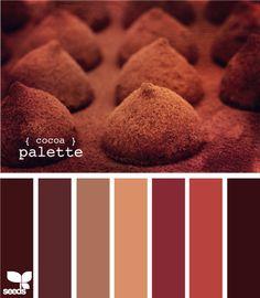 chocolate & carmel tones #color Livingroom?