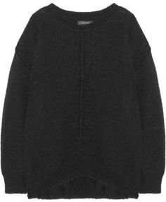 Black Oversized Sweater by Isabel Marant. Buy for $845 from NET-A-PORTER.COM
