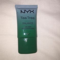 NYX Tea Tree Primer I bought it and had no use of if because of my other primers! Happy to give it a good home!!! Never Used NYX Makeup Face Primer