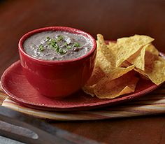 Hot Black Bean Dip :: Recipes :: MyPanera. Ingredients: black beans, sour cream, ckn broth, scallion, garlic clove, lime juice, cumin, oregano, hot red pepper sauce