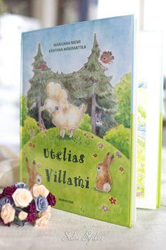 Utelias Villami lasten satukirja http://www.salonsydan.fi/tuote/utelias-villami-lasten-satukirja/ #kirja #kirjat #lapset #lapsille