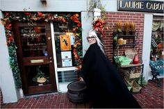 In the 1970s, Laurie Cabot opened the first witch shop in the city and today runs Cabot Academy, a witchcraft school.