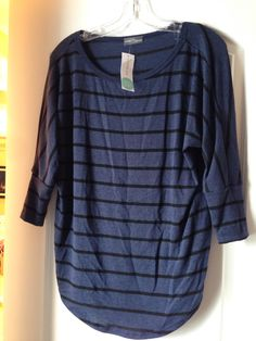 Market and Spruce Corinna Striped Dolman Top...usually not a fan of Dolman sleeves but I like this one!