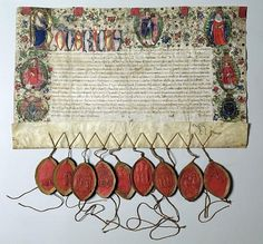 Image: Artist Artist - Letter of Indulgence to the Church of St. Nicolas, 22nd June 1484