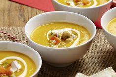 Gulrotsuppe med spisskummen og sitron Ramen, Dinner Recipes, Soup, Ethnic Recipes, Drink, Cilantro, Beverage, Drinks, Soups