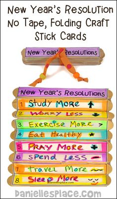 16 Best New Years Crafts and Bible Lessons images | New ...