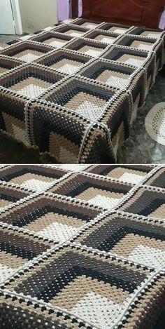 Knit Or Crochet, Easy Crochet, Free Crochet, Crochet Braids, Easy Knitting Projects, Crochet Projects, Crochet Ideas, Crochet Blanket Patterns, Knitting Patterns