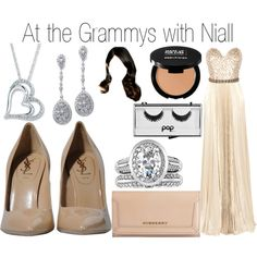 At the Grammys with Niall - Polyvore