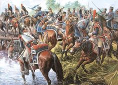4th French Cuirassier Rgt. vs Russian Grodno Hussar Rgt., Svolna, 1812.