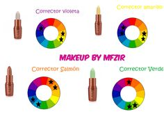 Para cubrir una rojez en el rostro o un poco de acné , solo basta utilizar un corrector verde para neutralizar ese color