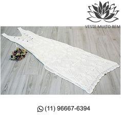 Vestido Longo de Crochê Transado nas Costas R$ 13000 (somente loja física) #vestemuitobem #moda #modafeminina #modaparameninas #estilo #roupas #lookdodia #roupasfemininas #tendência #beleza #bonita #gata #linda #elegant #elegance #jardimavelino