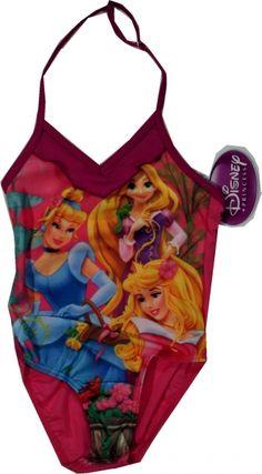 Costum oficial Disney cu Printese, 80% poliamida, 20% elastan. Graphic Tank, Tankini, Bodysuit, One Piece, Costumes, Disney Princess, Tank Tops, Swimwear, Women
