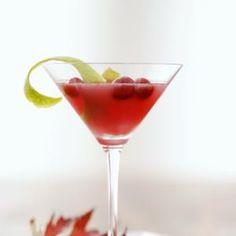 Martini de Arándanos Rojos