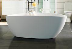 Badekar som skaper en avslappende spafølelse. - genuin støpemarmor som holder lenge på varmen. - moderne design. http://handlebad.no/badekar-massasjekar/frittstaende/ellipse