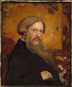 Ford Madox Brown, Self-Portrait, 1877, Harvard Art Museums/Fogg Museum.
