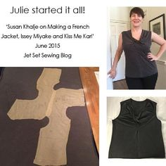 FREE #PatternMaking Instructions #PatternPuzzle - Issey Miyake Single Twist JetSetSewing's Julie