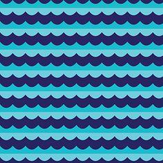 High Seas Blue ~ Seven Seas ORGANIC  beach blanket bingo #fatquarteridol @sewmamasew