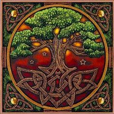 Tree of Life Cross Stitch Pattern from Gryphon's Moon!