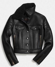 Coach Leather Biker Jacket d6ef0ce0715c8