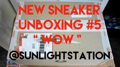 Sneaker Unboxing #5 || WOW || @Sunlightstation