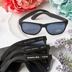Personalized+Expressions+Collection+cool+black+sunglasses