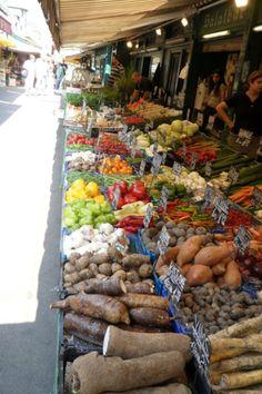 Market in Vienna Austria