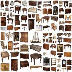 Antique Furniture store online, www.inessa.com #antiques