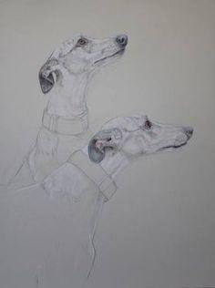 Donalee Peden Wesley. Drawing. Hounds Gaze-ON EXHIBIT IN BOSTON Animal Drawings, Art Drawings, Dog Artist, Greyhound Art, Fine Art Drawing, Art Inspiration Drawing, Bird Art, Cool Artwork, Cat Art