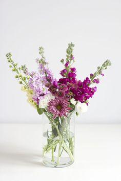 we love handmade   DIY: Blumen arrangieren   http://welovehandmade.at