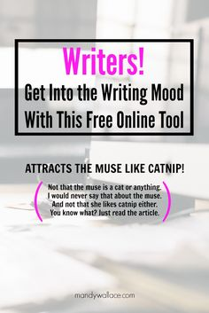 This is fantastic! Writers, get into the writing mood with this free online tool.