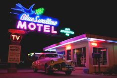 Blue Swallow Motel. Tucumcari, New Mexico.