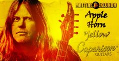 Mattias IA Eklundh, Caparison Apple Horn Yellow
