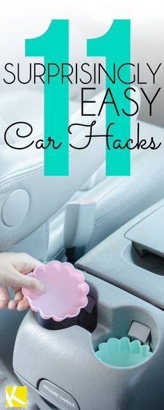11 Amazingly Easy Hacks to Keep Your Car Clean and Organized !