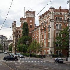 Просто красивая улочка в центре Вены. #Вена #Австрия #путешествие