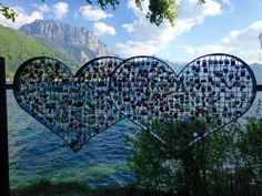 Hearts with padlocks in Gmunden at Lake Traunsee in Austria Padlocks, Vienna Austria, City Photo, Germany, Hearts, Europe, Italy, Italia, Deutsch