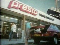 Presto Supermarket ad store opening in Paignton Nostalgia 70s, Tv Adverts, Love Now, Vintage Ads, Vintage Shops, Vintage Stuff, Teenage Years, Do You Remember, Love To Shop