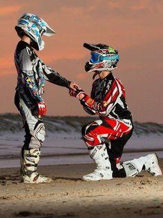 Motocross couple! <3