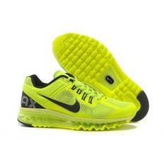 meet 33a75 c088f Nike Air Max + 2013 Unisex Schuhe Lichtgrün Online Verkaufen, Online  Outlet, Nike Air