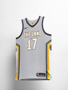 438f57b10 Cavaliers  new Nike uniforms pay tribute to The Land. Spalding Basketball  Hoop