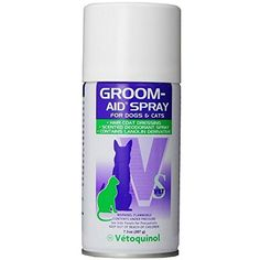 Vetoquinol Groom-Aid Spray Easy to Comb, Brush and Grooming For Dogs Cats 7.3oz >>> Be sure to check out this awesome product. (This is an affiliate link) #Cats