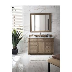 Shop for Bristol 48-inch White Washed Walnut Single Vanity. Get free delivery at Overstock.com - Your Online Furniture Outlet Store! Get 5% in rewards with Club O! - 21049648