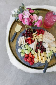 Fruit and cheese arr