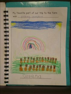 Our Trip To.... (field trip book)