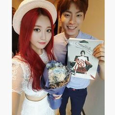 #HongJongHyun #홍종현 & Girl's Day #Yura~