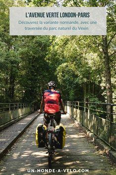 Tenté par l'aventure de l'Avenue Verte London-Paris ? Découvrez la variante normande de l'itinéraire qui passe par Gisors.