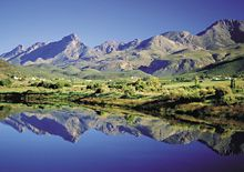 The Garden Route - Map of the Garden Route - South Africa Safari Garden Route South Africa, South Africa Safari, Places To Travel, Places To See, Provinces Of South Africa, Namibia, Out Of Africa, Mountain Range, Countries Of The World