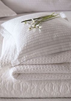 Bedeck's commitment to creativity and quality have allowed us to become one of the worlds leading luxury bedding suppliers. White Bedding, White Bedroom, Linen Bedding, Duvet, Bed Linens, Blanco White, White Cottage, Linens And Lace, Shades Of White